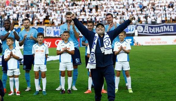 Maradona, Kıbrıs'a geliyor
