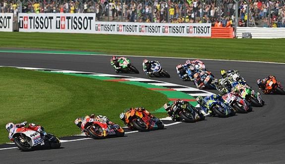 MotoGP'de Büyük Britanya yarışı iptal edildi