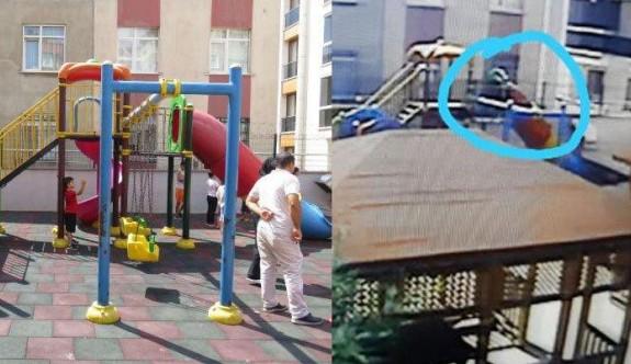 Parkta oynayan çocuklara ateş açtı