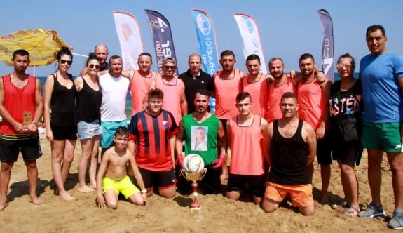 Plaj futbolunun, namağlup şampiyonu Ersin Turgut