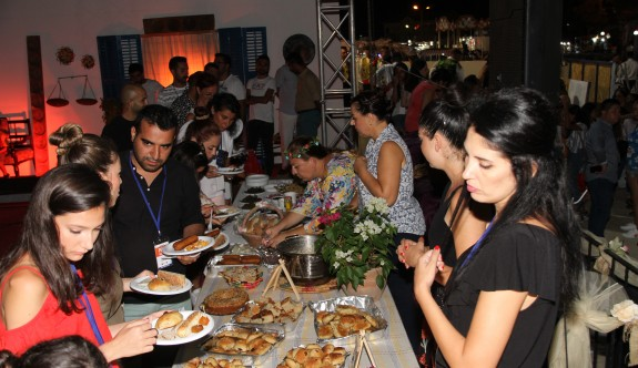 Pulya Festivali'nde Kıbrıs gecesi düzenlendi