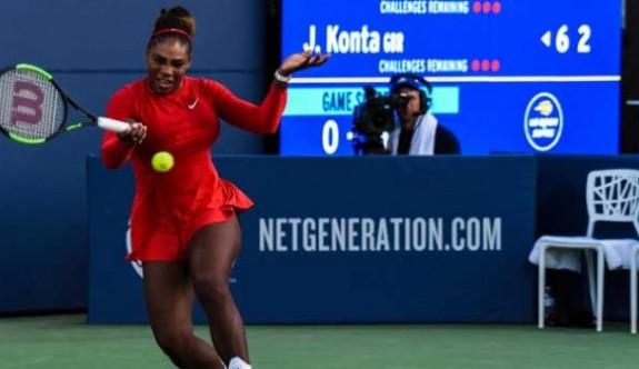 Serena Williams en ağır yenilgisini aldı
