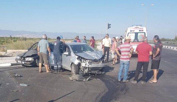Trafiğe açılmayan yolda kaza