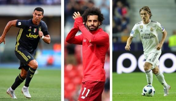 UEFA yılın oyuncusu ödülü için 3 adayı açıkladı