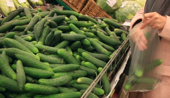 Zam rekoru salatalıkta
