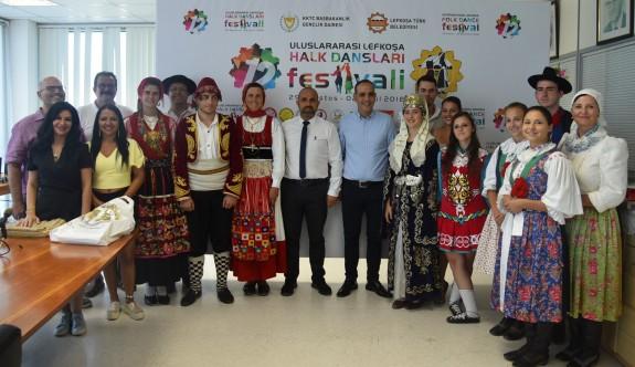 12. Uluslararası Lefkoşa Halk Dansları Festivali sona eriyor