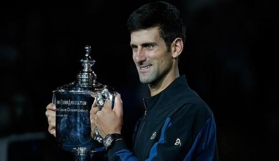ABD Açık'ta zafer Djokovic'in