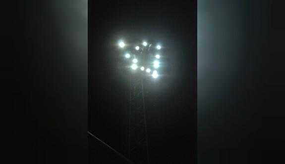 Atatürk Stadı'nın aydınlatması SOS veriyor