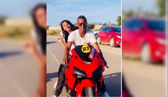 Baba-kız motor kazasında ağır yaralandı