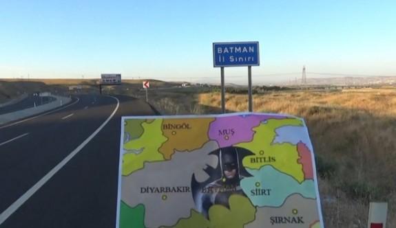 Batman İli için ilginç bir imza kampanyası başlatıldı