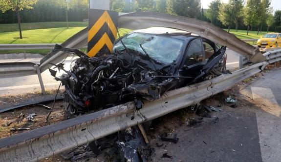 Bayrampaşa'da akıl almaz kaza