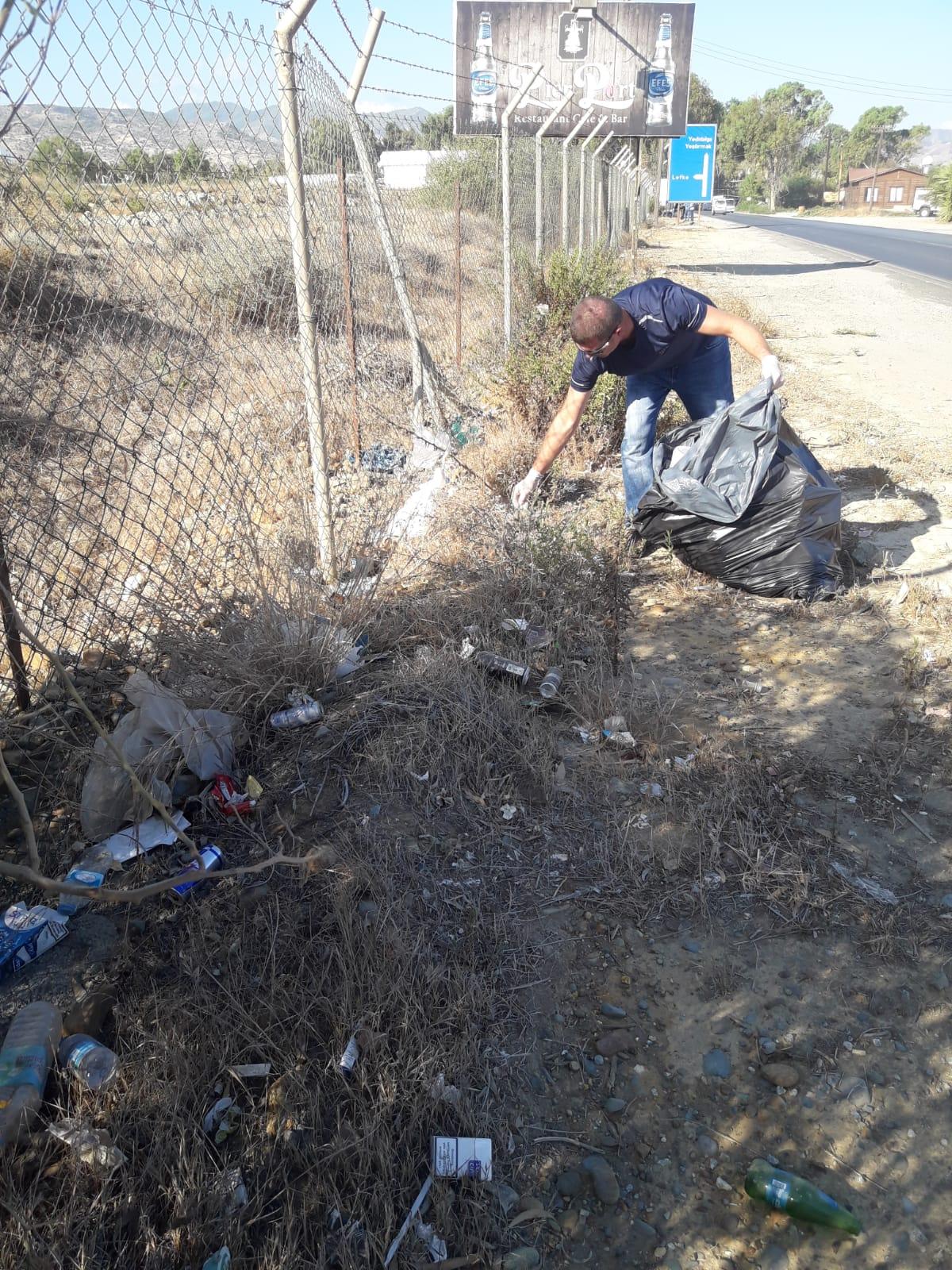 Çevre Koruma Dairesi, St. Hilarion Bölgesinde temizlik yapacak