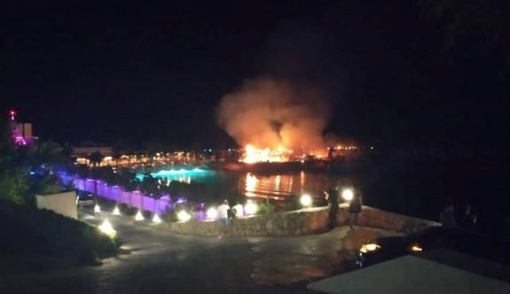Cratos'taki yangında bir kişi yaralandı