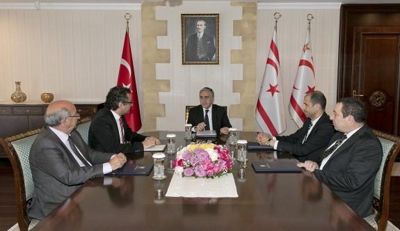 Cumhurbaşkanlığı'nda Kıbrıs konusu değerlendirildi