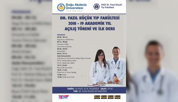 DAÜ Dr. Fazıl Küçük Tıp Fakültesi yeni öğrencilerine 'merhaba' diyecek
