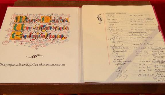 DAÜ Uluslararası Magna Charta Sözleşmesi'ne katılıyor