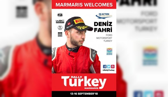 Deniz Fahri, WRC'de yarışacak