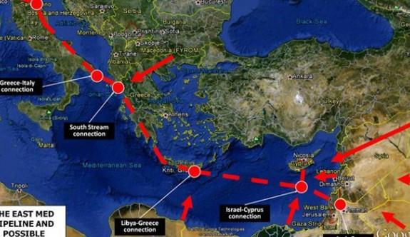 """""""East Med"""" için imzalar yıl sonuna kadar atılacak"""