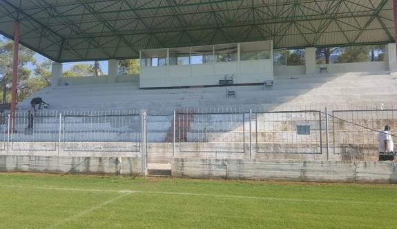 Erdal Barut Stadı, sezona hazırlanıyor