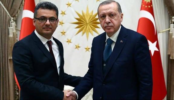 Erhürman ile Erdoğan görüşmeye başladı