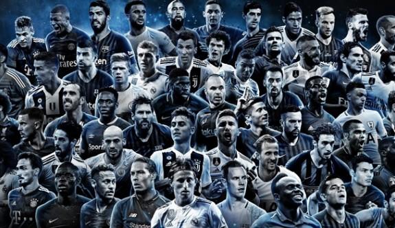 FIFA FIFPro Yılın 11'i adayları açıklandı