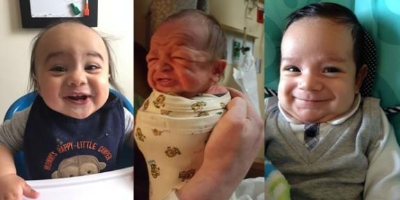 Hayatın Tüm Yükünü Omuzlamış Görünen Bebekler