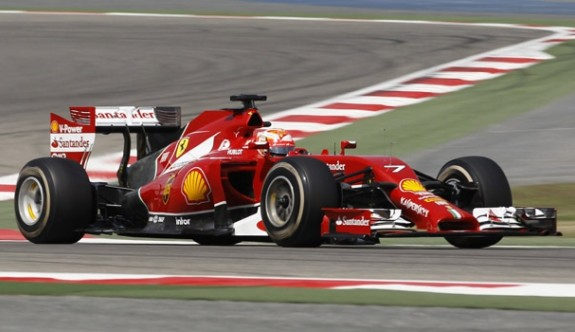 İtalya'da pole pozisyonu Raikkonen'in