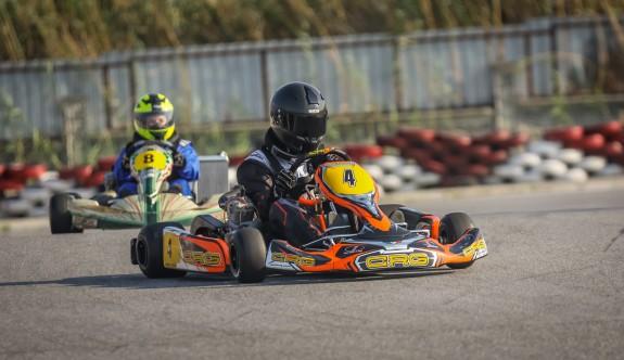 Karting'de dördüncü yarışlar Pazar günü