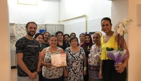 Kıbrıs tatları öğretildi
