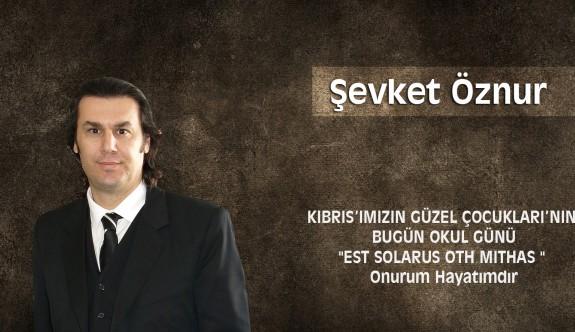 """Kıbrıs'ımızın Güzel Çocukları'nın Bugün Okul Günü """"Est Solarus Oth Mıthas """" Onurum Hayatımdır"""