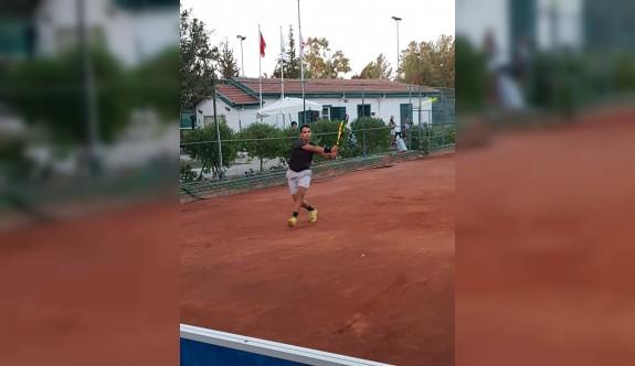 Lefkoşa'da tenis heyecanı devam ediyor