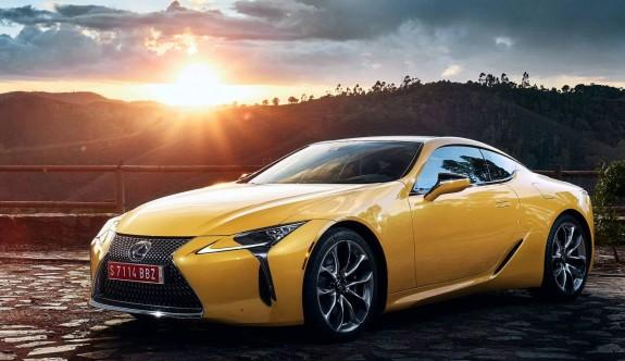 Lexus LC'ye limitli bir versiyon