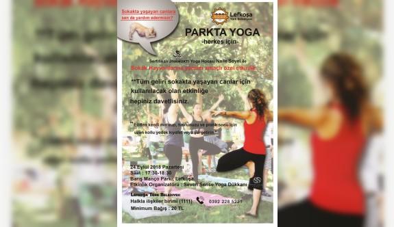 LTB'den sokak hayvanları yararına Yoga etkinliği