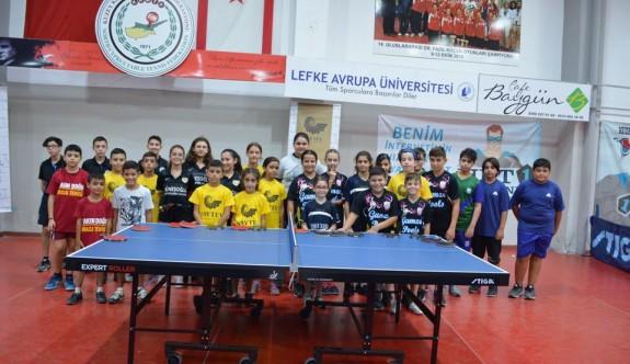 Masa Tenisi'nde Minikler Ligi heyecanı başladı