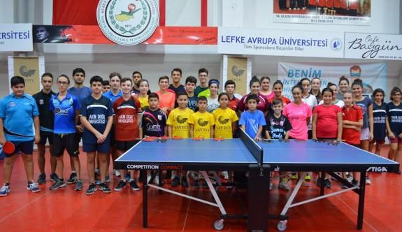 Masa Tenisi'nin minikler şampiyonları belirlendi