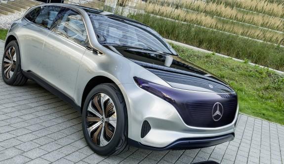 Mercedes'in elektrikli hali: EQC