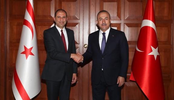 Özersay ile Çavuşoğlu Ankara'da görüşüyor
