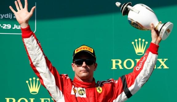 Raikkonen Ferrari'den ayrılıyor