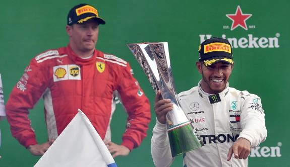 Raikkonen, Hamilton'ı durduramadı