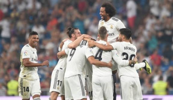 Real Madrid, farklı galip