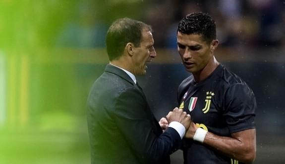 Ronaldo, İtalya'da suskun