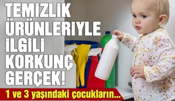 Temizlik ürünleriyle ilgili korkunç gerçek!