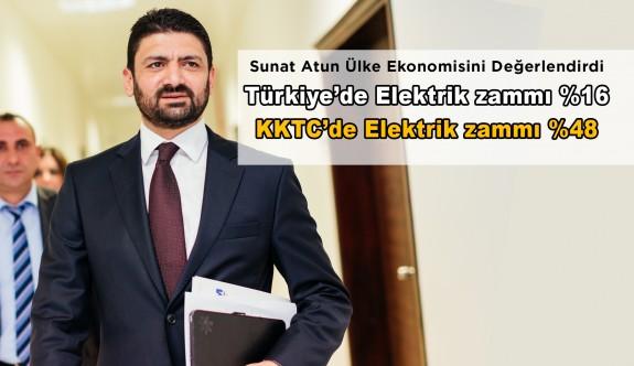 Türkiye'de elektrikte zam % 16 iken KKTC'de neden % 48 oldu