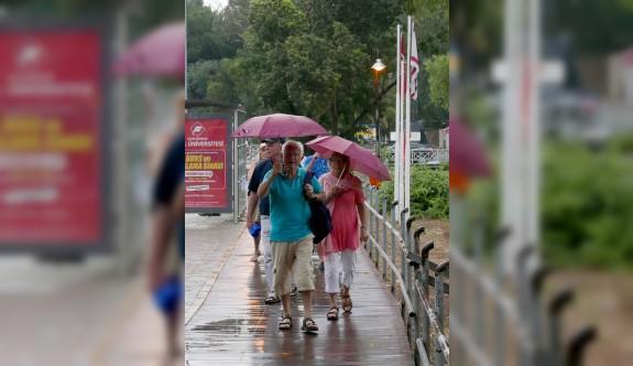 Yağmurlu hava Cumartesi'ye kadar sürecek
