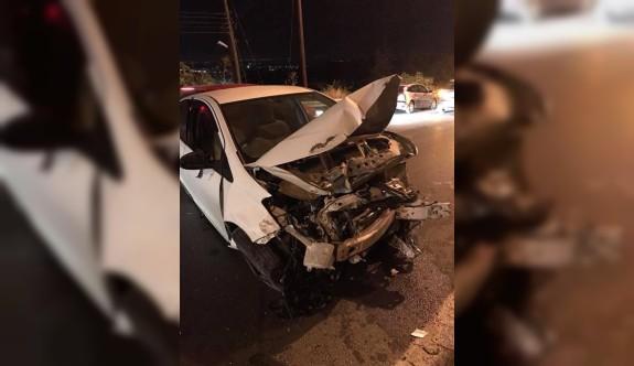 Yine alkollü sürüş yine kaza