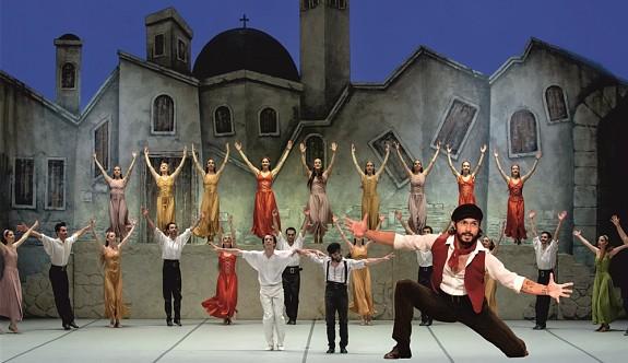 Zorba Balesi yarın, Girne Amfitiyotra'da sahnelenecek