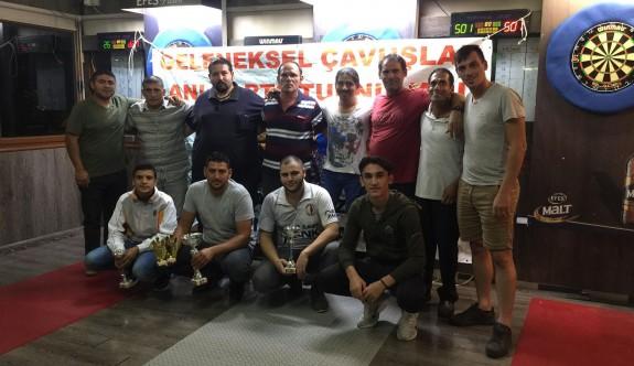 Amcaoğlu, Çavuşlar Turnuvası'nda hedefe attı