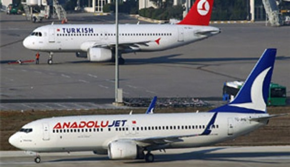 """""""Anadolu Jet güne KKTC'de başlayıp günü KKTC'de bitirecek"""""""