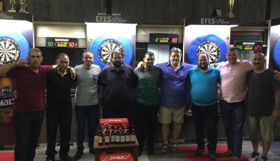 Bud Bira Darts Turnuvası'nın şampiyonu Özeren
