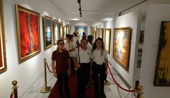 Çocukların sanat yolculuğu